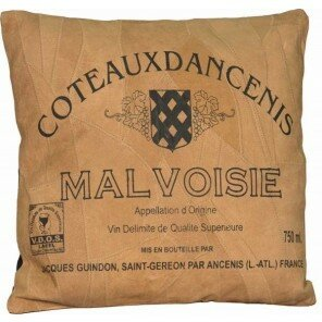 Poduszka Bordeaux 40 x 40 cm