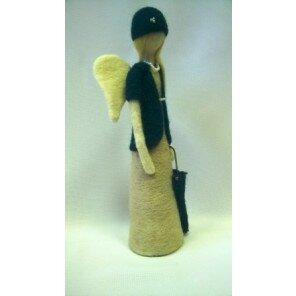 Anioł dama z parasolką