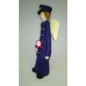 Anioł filcowy Kolejarz