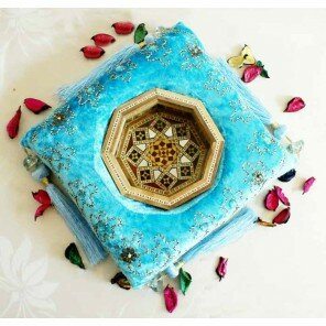 Miseczka Zahir - błękitna