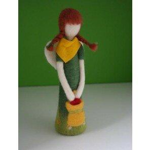 Aniołek Dziewczynka z chustą