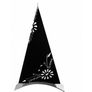 Świeca White Flower trójkątna
